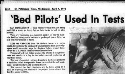 NASA Bedrest Pilot