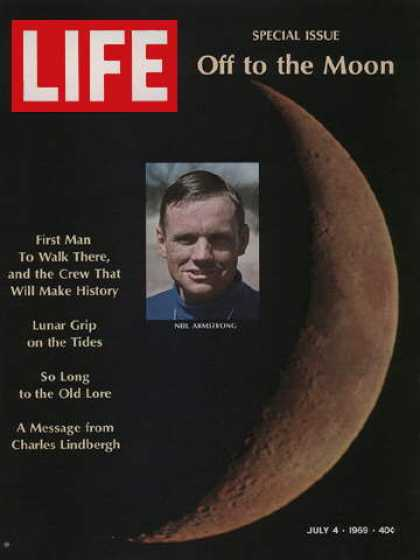 magazine article content on the subject of apollo 11