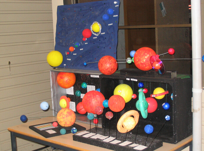 Drysdale Primary School Solar System Projects!